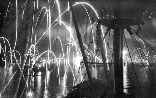 05-fireworks-japan-surrender-battleshipUSNAVYLeyte