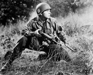 Audie Murphy in To Hell and Back