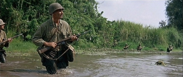 M1 carbine in Merrill's Marauders movie