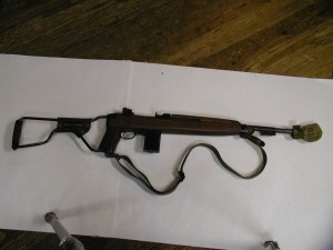Paratrooper's M1 carbine