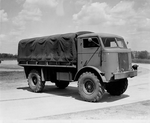 FWD transport truck