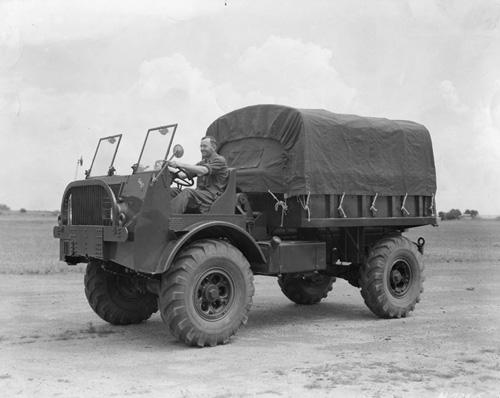 FWD marine truck