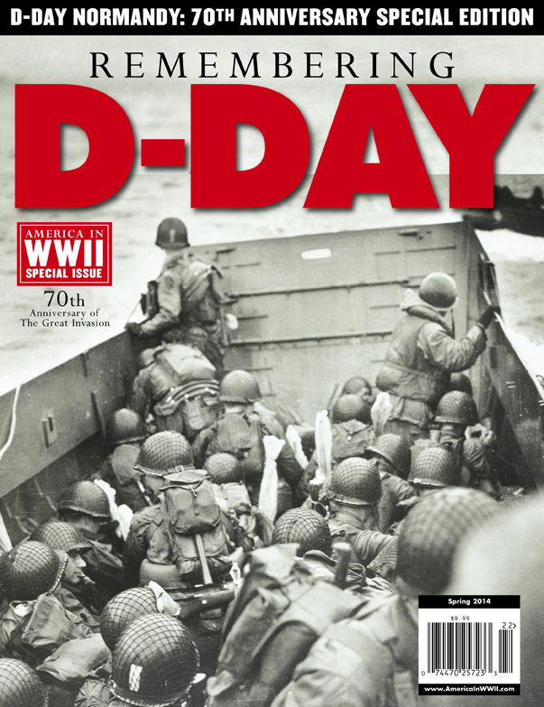 Remembering D-Day cover