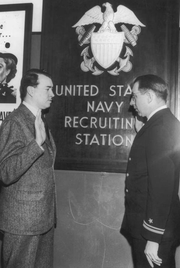 William Patrick Hitler sworn into US Navy