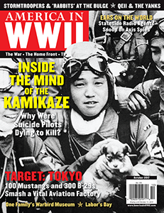 AMERICA IN WWII magazine's October 2017 issue