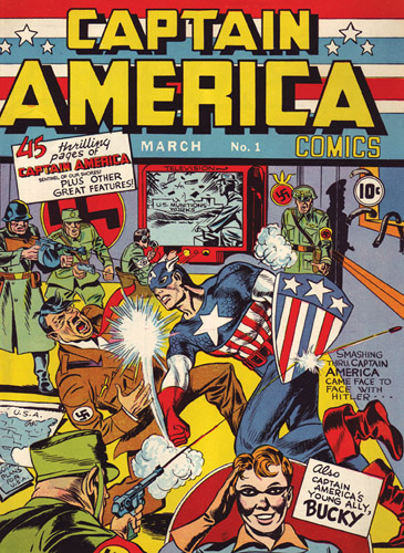 Captain America Comics No. 1 from March 1941