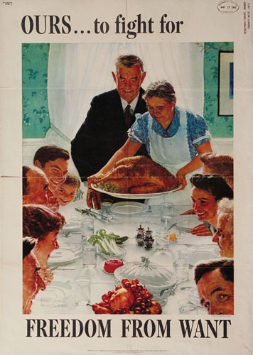 Norman Rockwell and the Four Freedoms - America in WWII magazine