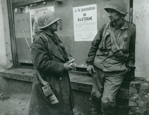 Soldiers in Bastogne