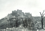 The ruins of Monte Cassino