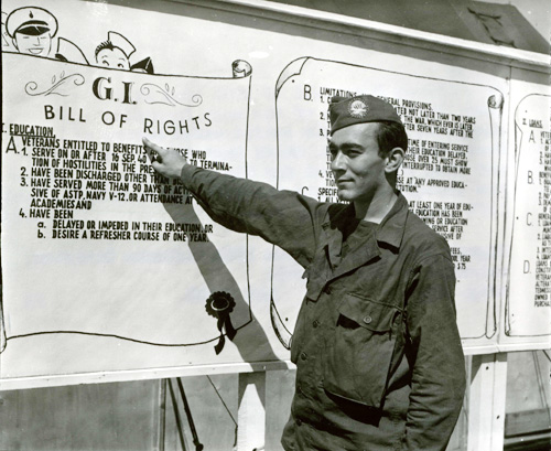 Private Sidney Rosenfeld of the US 6th Engineer Special Brigade