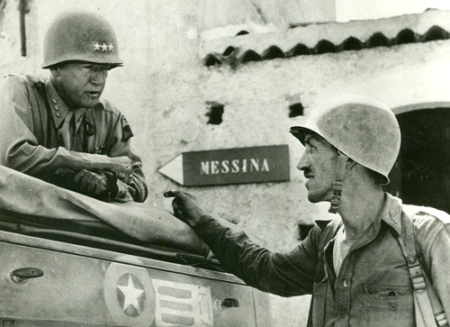 Patton and Lyle Bernard in Messina
