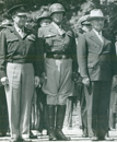 Patton, Dwight Eisenhower, and Harry Truman in Berlin