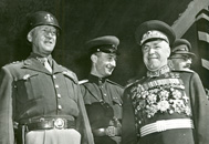 Patton and Gregory Zhukov in Berlin