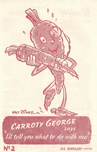 Disney Carroty George flyer