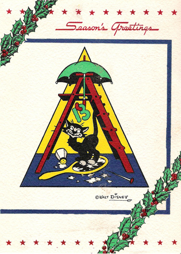 13th Armored Division Christmas card