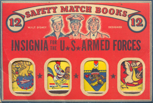Insignia matchbooks