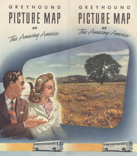Greyhound picture map cover