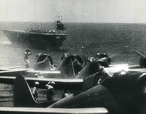 Japanese carriers at Midway