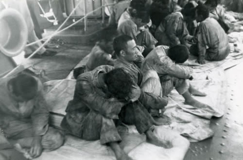 Japanese POWs at Midway