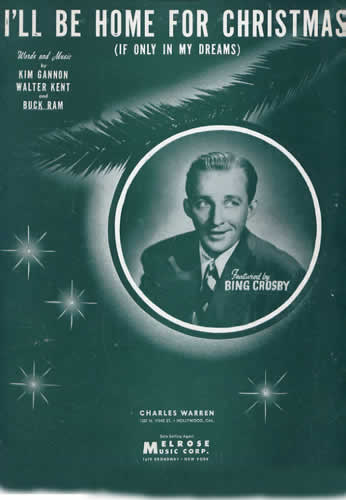 crosby - Bing Crosby I Ll Be Home For Christmas